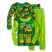 Teenage Mutant Ninja Turtles 4-pc. Pajama Set - Boys 2t-4t