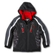 Weatherproof® Hooded Heavy-Weight Vestee Jacket - Boys 2t-5t