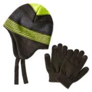Berkshire Peruvian Hat and Glove Set - Boys One Size