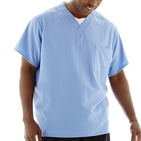 Jockey® 1-Pocket Unisex Scrub Top–Big & Tall