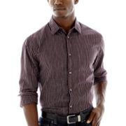 JF J. Ferrar® Long-Sleeve Button-Front Shirt