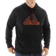 adidas® Fleece Pullover Hoodie–Big & Tall