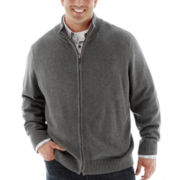 Dockers® Full-Zip Sweater–Big & Tall