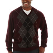 Dockers® Raker V-Neck Sweater–Big & Tall