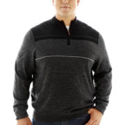 Dockers® Quarter-Zip Colorblock Sweater–Big & Tall