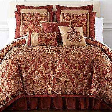 Cheap Home Expressions Castlebury 7 Pc Comforter Set