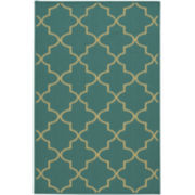 Geo Washable Rectangular Rug