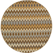 Ziggy Indoor/Outdoor Round Rug