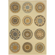 Medallion Indoor/Outdoor Rectangular Rugs