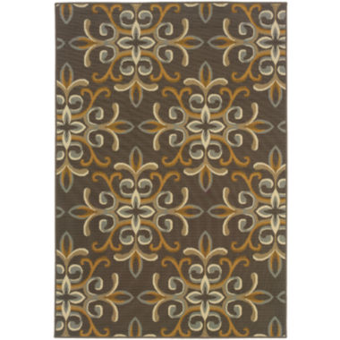 jcpenney.com | Covington Home Filigree Indoor/Outdoor Rectangular Rug