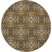 Filigree Indoor/Outdoor Round Rug