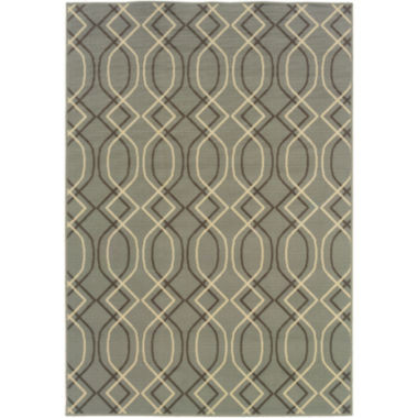 jcpenney.com | Covington Home Air Waves Indoor/Outdoor Rectangular Rug