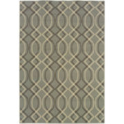 Air Waves Indoor/Outdoor Rectangular Rug