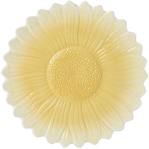 Pfaltzgraff® Rooster Meadow Sunflower Serving Platter