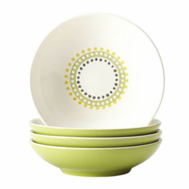 jcpenney.com | Rachael Ray® Circles and Dots Set of 4 Fruit Bowls