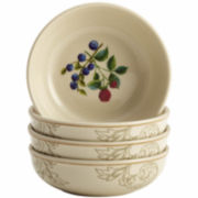 BonJour® Orchard Harvest Set of 4 Fruit Bowls