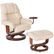 Pennly 2-pc. Recliner and Ottoman Set