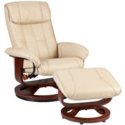 Plymouth 2-pc. Recliner and Ottoman Set