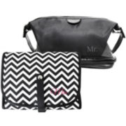Mr. & Mrs. Set of 2 Travel Bags