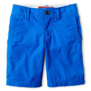 Arizona Poplin Chino Shorts - Boys 6-18 and Husky
