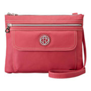 Relic® Erica Top-Zip Flap Crossbody Bag