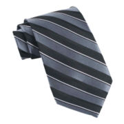Stafford® Derby Stripe Extra-Long Tie