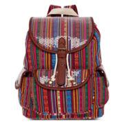 Olsenboye® Striped Sequined Backpack