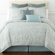 Liz Claiborne Amhurst 4-pc. Aqua Paisley Comforter Set