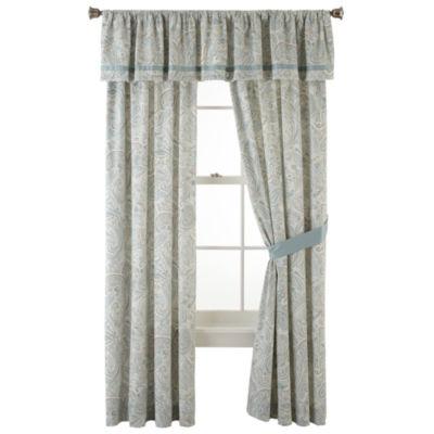 Liz Claiborne® Amhurst Paisley 2 Pack Curtain Panels