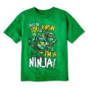 Teenage Mutant Ninja Turtles Graphic Tee – Boys 4-7