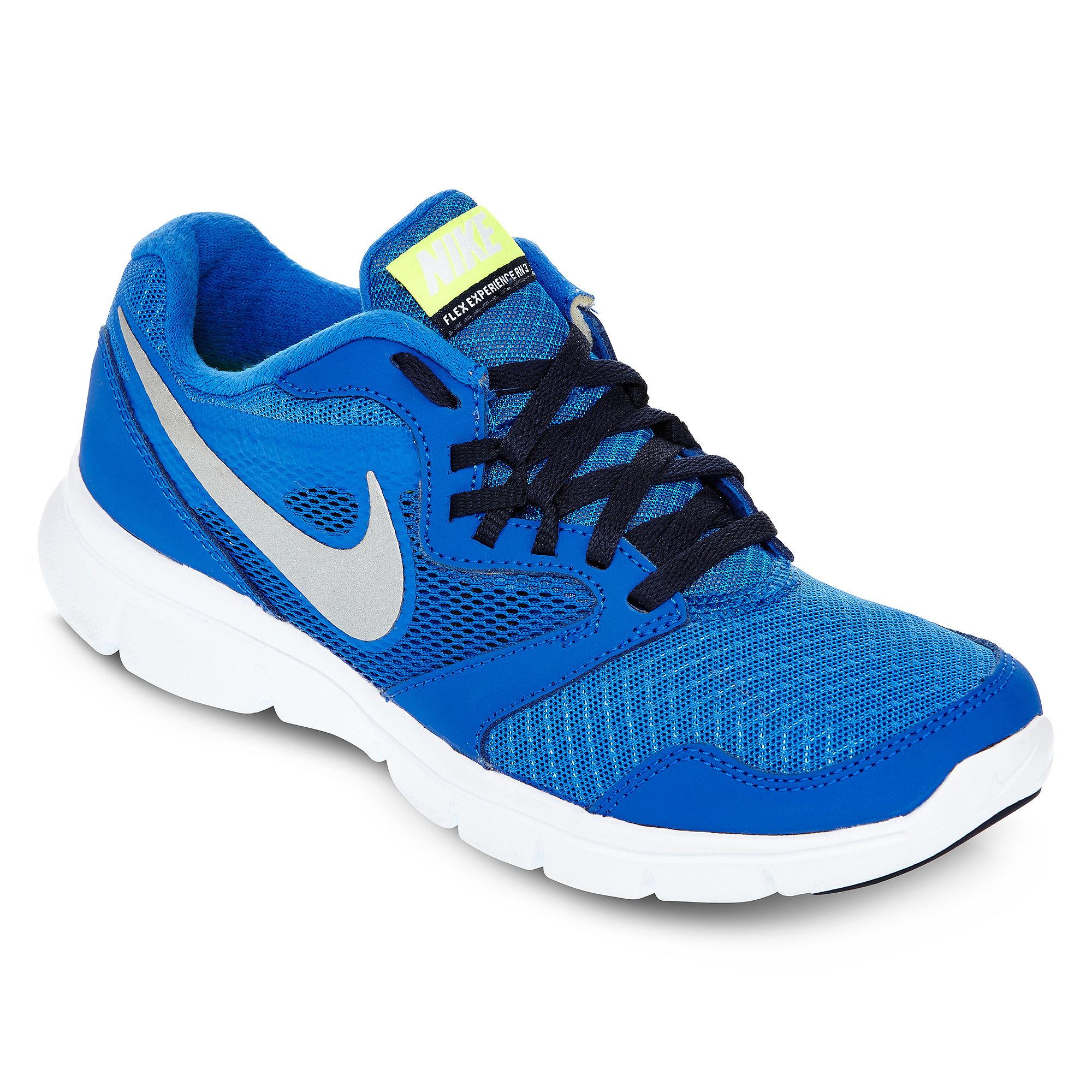 Boys Blue Nike Shoes