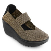 St. John's Bay® Karma Wedge Mary Janes