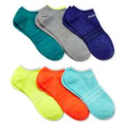 adidas® 6-pk. Superlite No-Show Socks