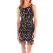 Prelude Sleeveless Beaded Dress