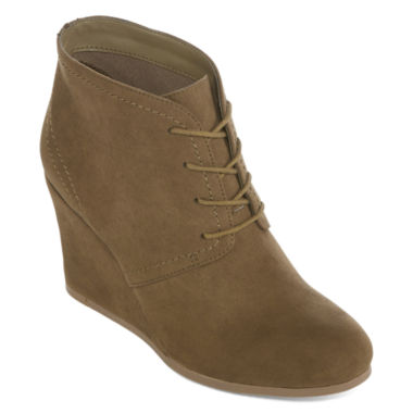 jcpenney.com | Arizona Lacie Wedge Ankle Booties
