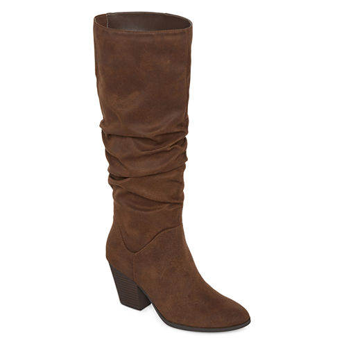 a.n.a® Linden Ruched Boots