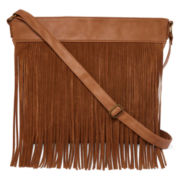 T-Shirt and Jeans™ Fringe Crossbody Bag