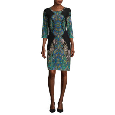 jcpenney.com | Ronni Nicole Multi-Scroll Print Shift Dress