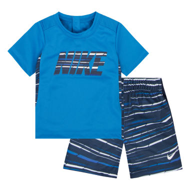 jcpenney.com | Nike Boys Short Sleeve Short Set