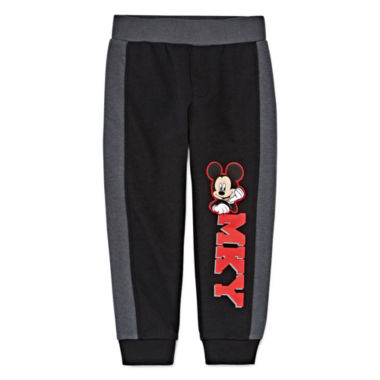 jcpenney.com | Okie Dokie® Mickey Mouse Joggers - Toddler Boys 2t-5t