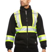 Work King® High Visibility Hoodie Jacket