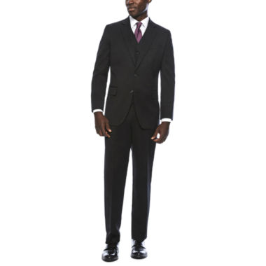 jcpenney.com | Stafford® Travel Stretch Black Classic Fit Suit Separates
