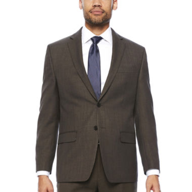 jcpenney.com | Collection by Michael Strahan Brown Sharkskin Jacket
