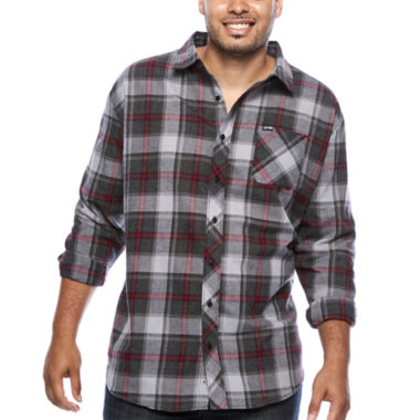 jcpenney.com | Zoo York® Long-Sleeve Woven Plaid Shirt - Big & Tall