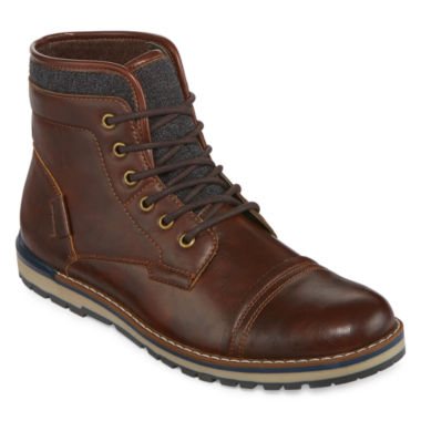 jcpenney.com | JF J. Ferrar® Tookers Mens Lace-Up Fashion Boots