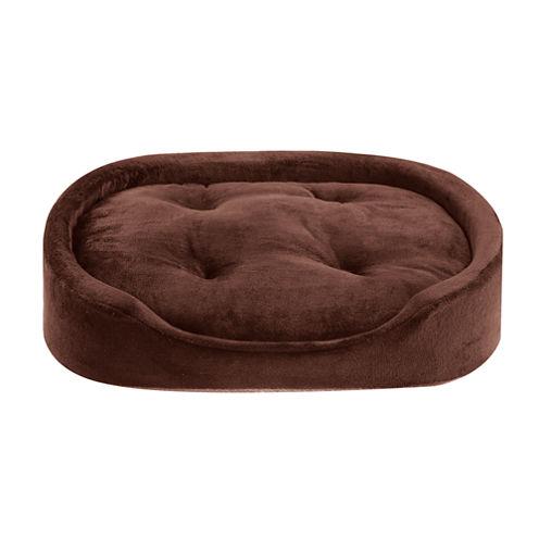 Sleep Philosophy Corbin Plush Oval Cuddler