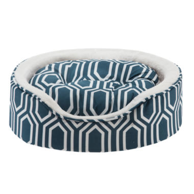 jcpenney.com | Intelligent Design Miley Fretwork Oval Cuddler with Cushion 18X14