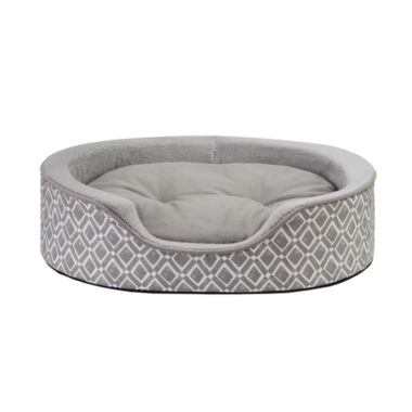 "jcpenney.com | Intelligent Design 27x21"" Harley Oval Pet Cuddler"