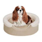 "Soft Touch 18x14"" Lucky Oval Pet Cuddler with Cushion"
