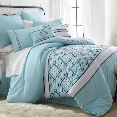 jcpenney.com | Pacific Coast Textiles Arizona Microfiber 8-pc. Comforter Set